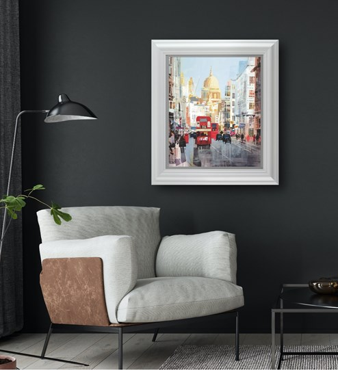 Beat Goes On by Tom Butler - Limited Edition on Paper wall setting